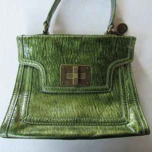 Vera Wang Green Patent Leather Purse